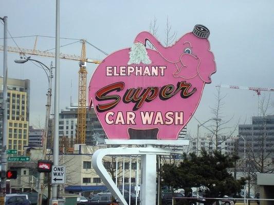 Elephant Car Wash Car Wash Seattle Wa Yelp