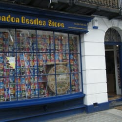 Front of the shop on Baker Street