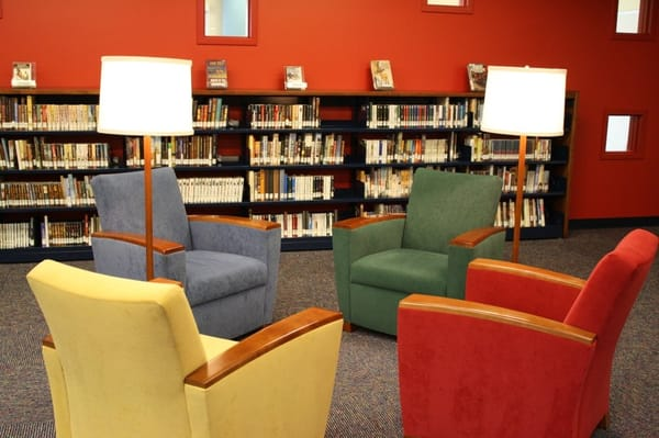 Our Comfy Reading Chairs Throughout The Library Yelp