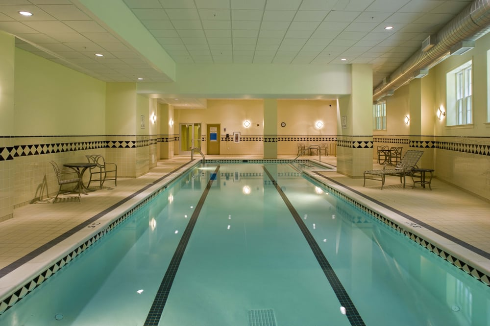 Our 60 foot indoor lap pool. | Yelp