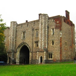 Abbey Gatehouse, from south