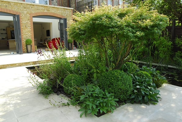 Contemporary Garden Designers, Josh Ward Garden Design, created ...