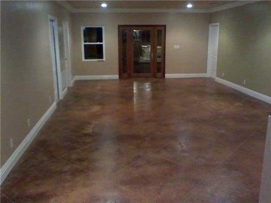 Concrete Flooring Indoors : Concrete indoor flooring by impressive yelp