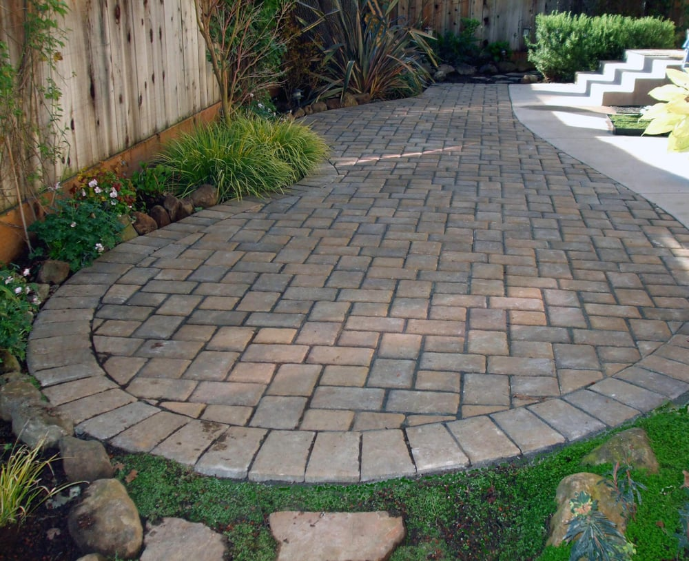 interlocking paver patio yelp