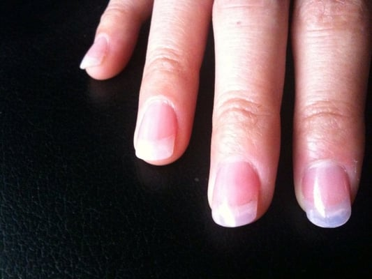 Clear Gel Acrylic Nails Clear Acrylic Nails