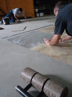Next Day Vinyl Floor Installation Available For