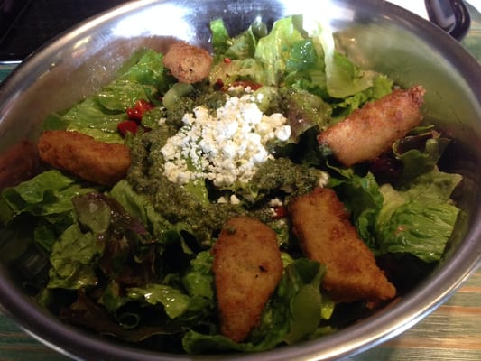 Crispy artichoke salad. Recommend it! | Yelp