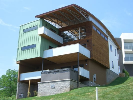 Nashville modern organic architecture in the style of for New modern homes nashville tn