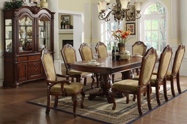 elegant and traditional formal dining table sets yelp