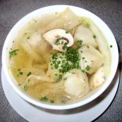Wan-Tan-Suppe bei Mr. Hang