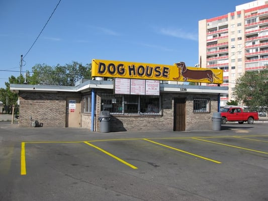 Dog house drive in 68 photos hot dogs downtown for Dog house albuquerque