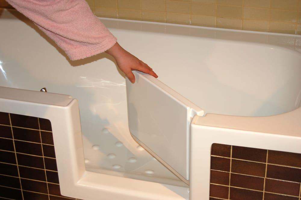Vasca con sportello, sovrapposizione vasca accessibile  Yelp
