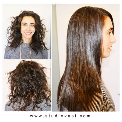 Japanese Straightening System By Vasi Beautiful Silky