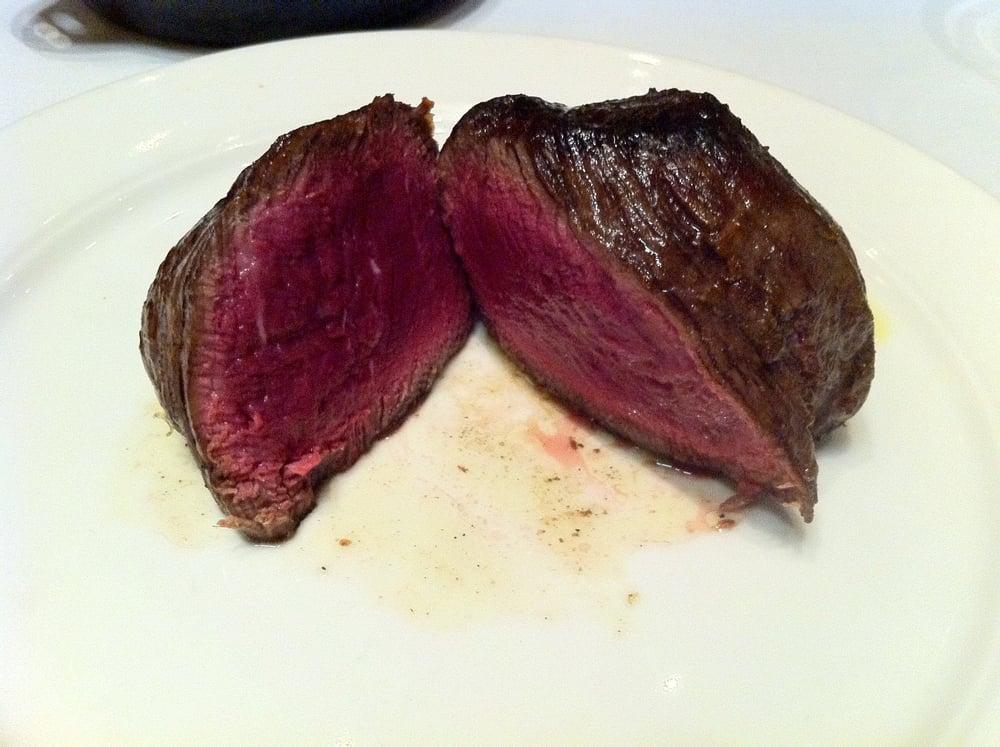 16 oz double filet mignon medium rare | Yelp