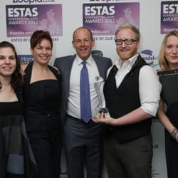 Winning Gold as (North) London's Best Letting Agent at the ESTAS2012