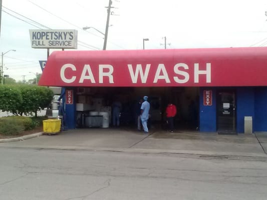 kopetsky s full service car wash indianapolis in usa yelp. Black Bedroom Furniture Sets. Home Design Ideas