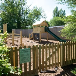 Children's play are tucked away to preserve the tranquillity of the rest of our lovely gardens
