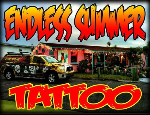 Endless summer tattoo cocoa beach yelp for Endless summer tattoo