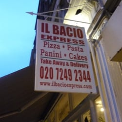 Il Bacio Express, London, UK
