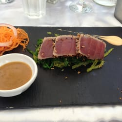 seared ahi starter