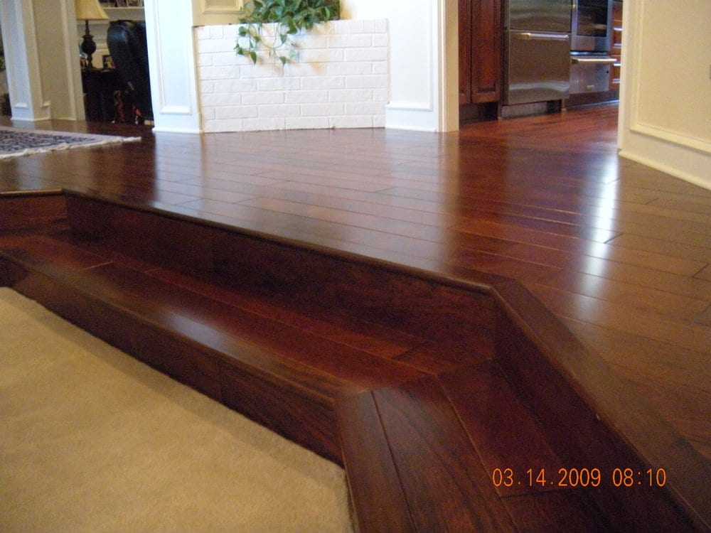 Beautiful Tigerwood Hardwood Flooring Yelp