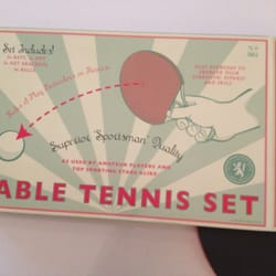 The awesome £10 table tennis set I got as an impulse buy!