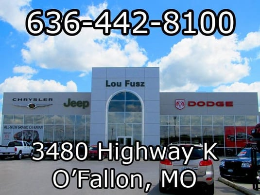 Lou Fusz Chrysler Jeep Dodge - Auto Repair - Fallon, MO - Yelp