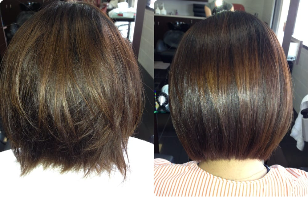 Magic straight perm by Michelle.^^ Yelp