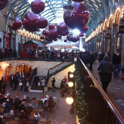 Covent Garden in kerstsfeer. Nice!