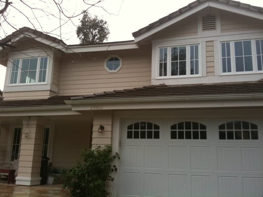 Sdl Composite Windows With A New Amarr Garage Door With 24