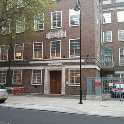 Former main entrance of Birkbeck. The new one is on the other side of this building.