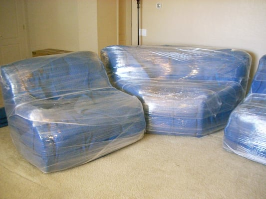 We Shrink Wrap Your Furniture For Free No Charge For Shrinkwrap This Helps Protect Your