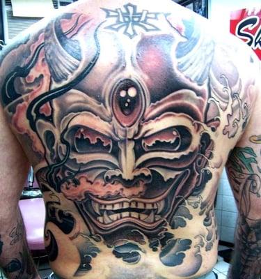 No Ka Oi Tiki Tattoo