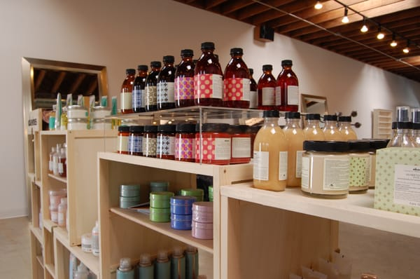 We are a davines concept salon what a joy to work with for 3 little birds salon