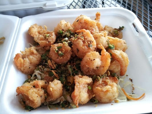 Salt and Pepper Shrimp - fairly spicy | Yelp