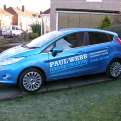 Paul Webb Driver Training, Liverpool, Merseyside
