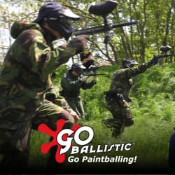 Go Ballistic Paintball Bricketwood, St. Albans, Hertfordshire