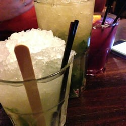 Caipirinha, mojito, and the classic sangria