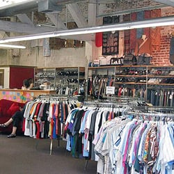 In addition to offering thrifty clothing deals, Buffalo Exchange will buy used clothes, making
