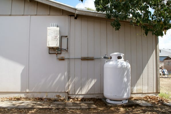 We Install All Sizes Of Propane Tanks