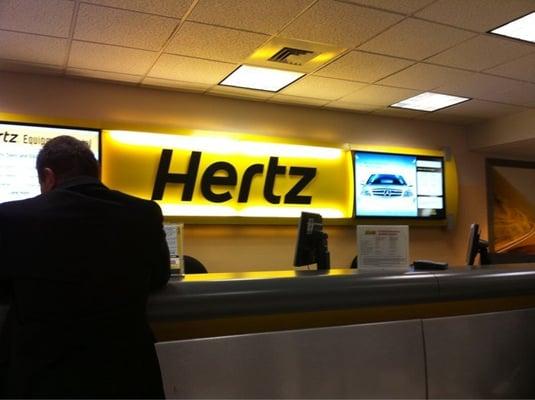O Hare Hertz Rental Car Return