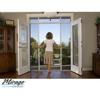 Mirage retractable screen doors san diego mount helix for Retractable screen door reviews