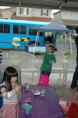 ... Birthday Parties made easy on this Sacramento area Kids Party Bus