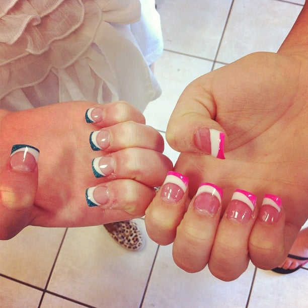 Instagram @artnailswylie How cute are these matching nails? :) | Yelp