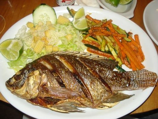 Mojarra plate yelp for Fish plates near me