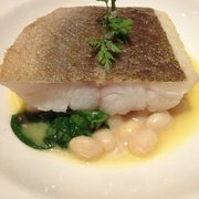 Filet of cod on price fix menu at Galvin bistro