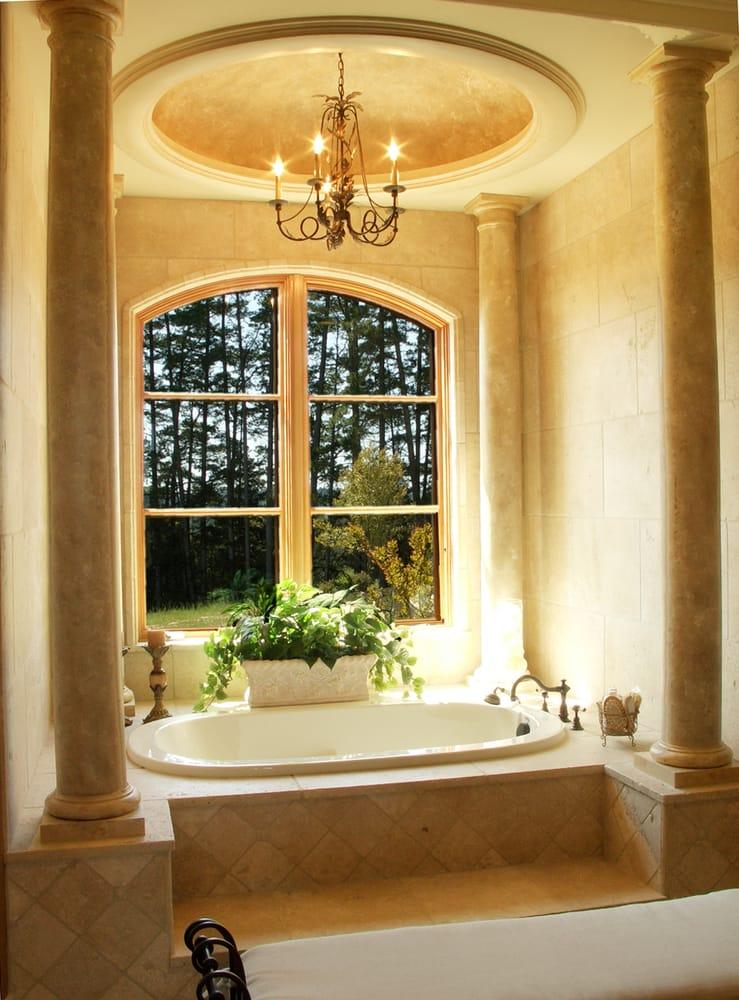 Roman style master bath yelp Roman style bathroom designs