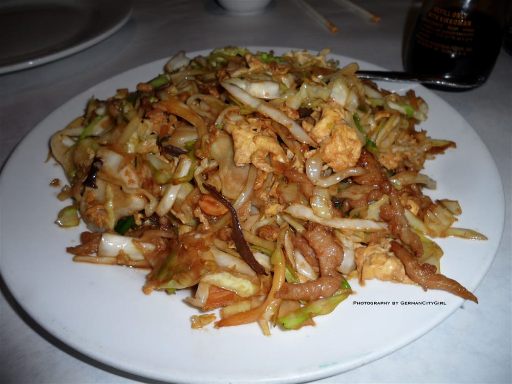 Moo shu pork. | Yelp