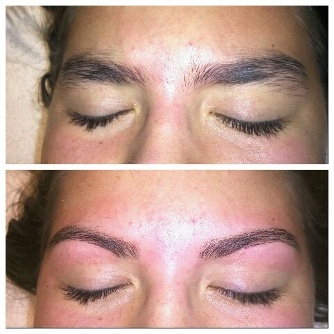 how to use eyebrow kit with wax
