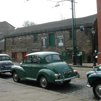morris minor rally at Crich